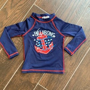 Billie Girls by Billabong Red White and Blue